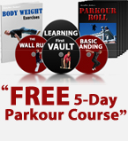 """parkour course"" ""how to parkour"""