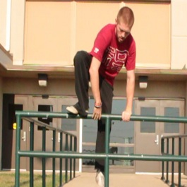 """how to parkour - safety vault"""