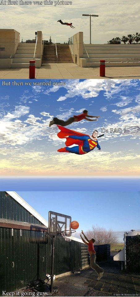 Daniel arroyo dive kong with superman