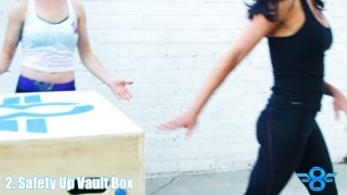 how to safety vault in parkour