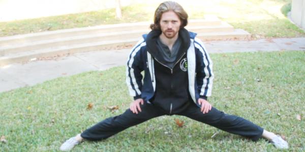 get more flexible, learn splits,